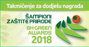 ŠAMPIONI ZAŠTITE PRIRODE, BIH GREEN AWARDS 2018